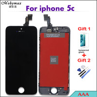 Mobymax AAA LCD Screen For Apple IPhone 5C A1507 Replacement Capacitive Module Repair Display Digitizer Assembly