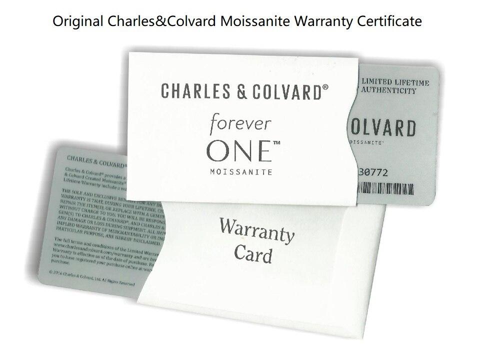 charles colvard moissanite certificate