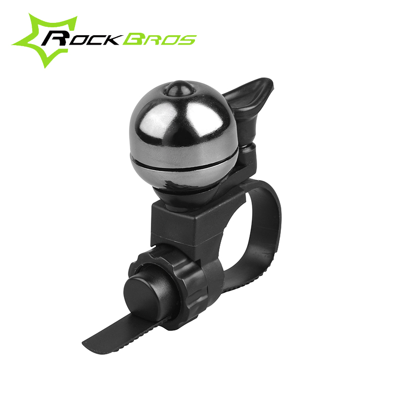 RockBros Bike Bicycle Ordinary Copper Bells Cycling Riding Ultra-light Handlebar Bell Horns Ring Crisp Ringing Mechanical Bell