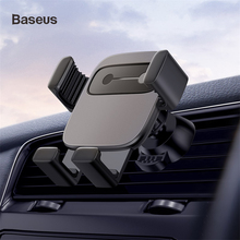 Baseus car holder for iPhone X XR XS Samsung S9 mount gravity all mobile phone in air vent