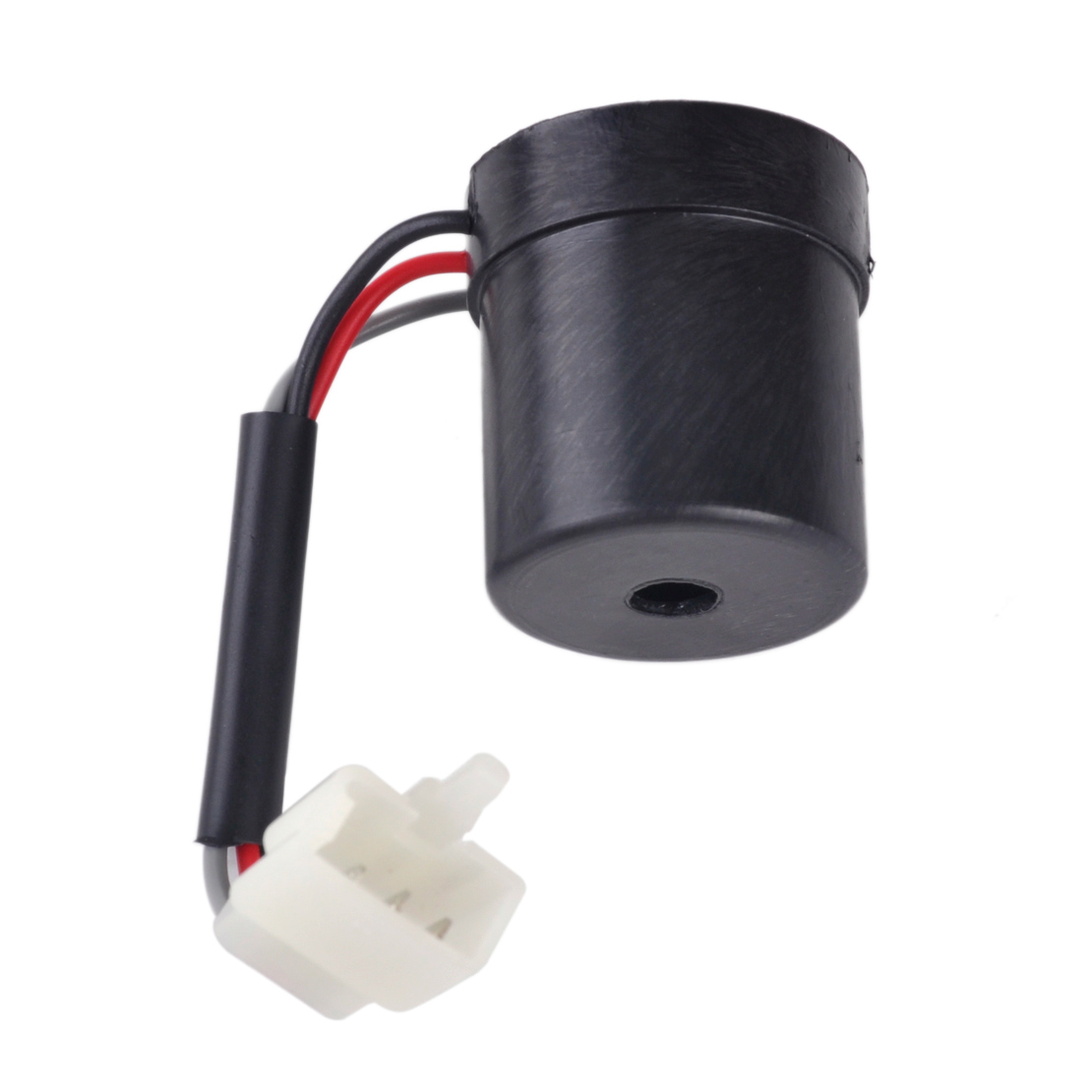 Citall 1pc Black 3 Wire Round Turn Signal Relay Flasher