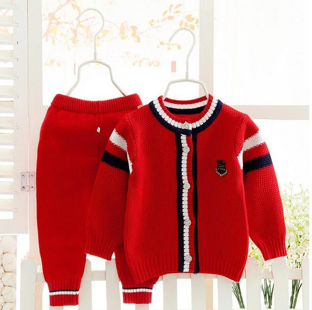 Baby infant sweater cardiganset  baby newborn  pullover sweater set    Children Cardigans Sweater Children Clothes