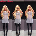 Visón 7A Brasileño Ofertas de Paquete Cabello Virgen 613 Platinum Blonde Rubia de Pelo de la Reina Brasileña Onda Del Cuerpo 4 Bundles Pelo Brasileño