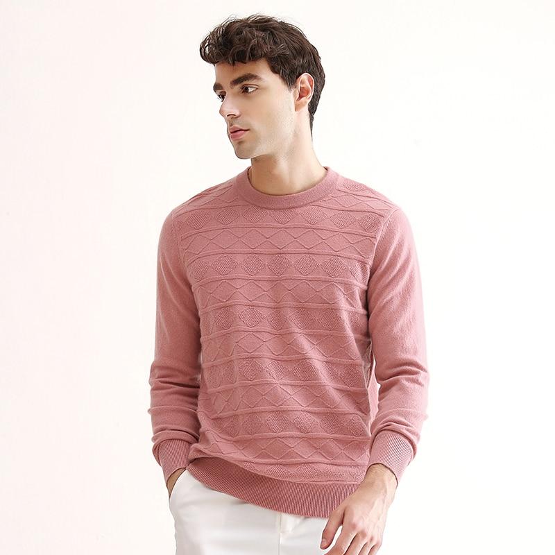 ZHILI 2018 New Autumn Winter O-Neck Undershirt Cashmere Sweater