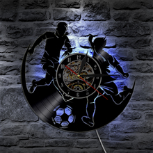 Buy football wall light and get free shipping on aliexpress 1piece play football led light wall lamp sport led backlight soccer modern vintage vinyl record wall mozeypictures Images
