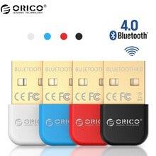Orico бта беспроводной usb bluetooth адаптер 4.0 bluetooth dongle музыка звуковой адаптер приемник передатчик bluetooth для компьютера