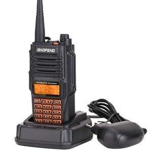 Image 3 - 2PCS Baofeng UV 9R בתוספת מכשיר קשר 8W גבוהה כוח UHF VHF להקה כפולה IP67 עמיד למים נייד שתי בדרך מכשירי רדיו