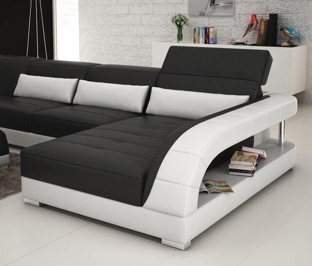 Nouveau Design Canape Canape D Angle Avec Led Lumiere Canape Dans