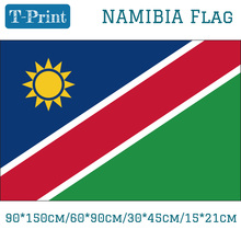 90*150cm/60*90cm/15*21cm Namibia National Flag 30*45cm Car 3x5ft Polyester Banner For Day / Olympic Games Event