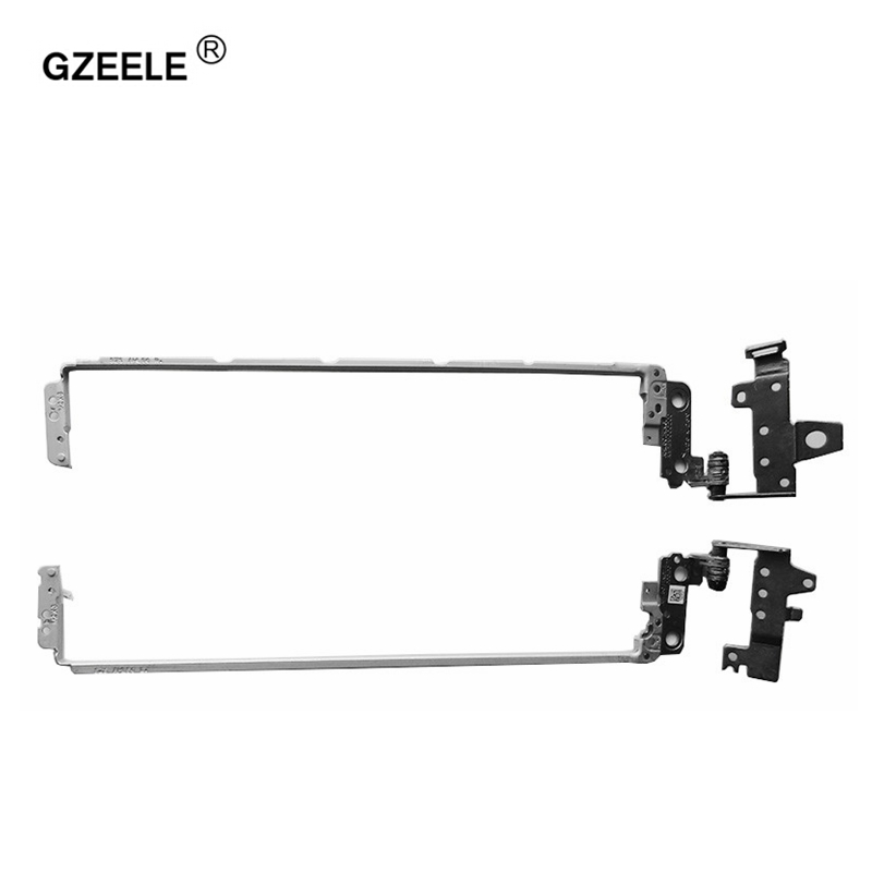 GZEELE New Laptop Hinges For HP Pavilion 15-AC 250 G4 255 G4 15-AC121DX 15-A 15-AF Series Notebook Left+Right LCD Screen Hinge