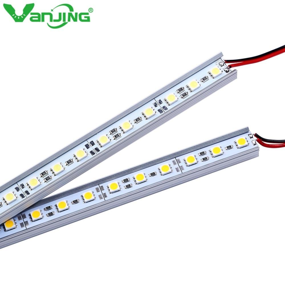 2pcs lot 5050 smd led bar light white warm white 36leds for Sideboard 2 50 m