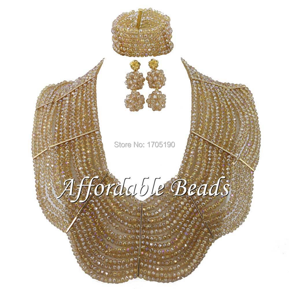 Excellent Beaded Nigerian Jewelry Rare African Beaded Jewelry ABW028Excellent Beaded Nigerian Jewelry Rare African Beaded Jewelry ABW028