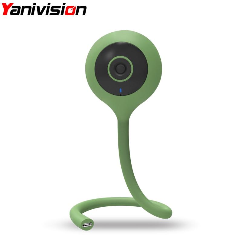 720P Wireless Nanny Baby Monitor Wifi Camera 2 Way Audio Night Vision Security Camera Temperature Monitor Lullaby Baby Sister
