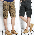 2016 Rushed Real Lightweight Mid Loose Straight Military Wholesale Summer Men's Casual Pants Pocket Camouflage Cotton Size Five