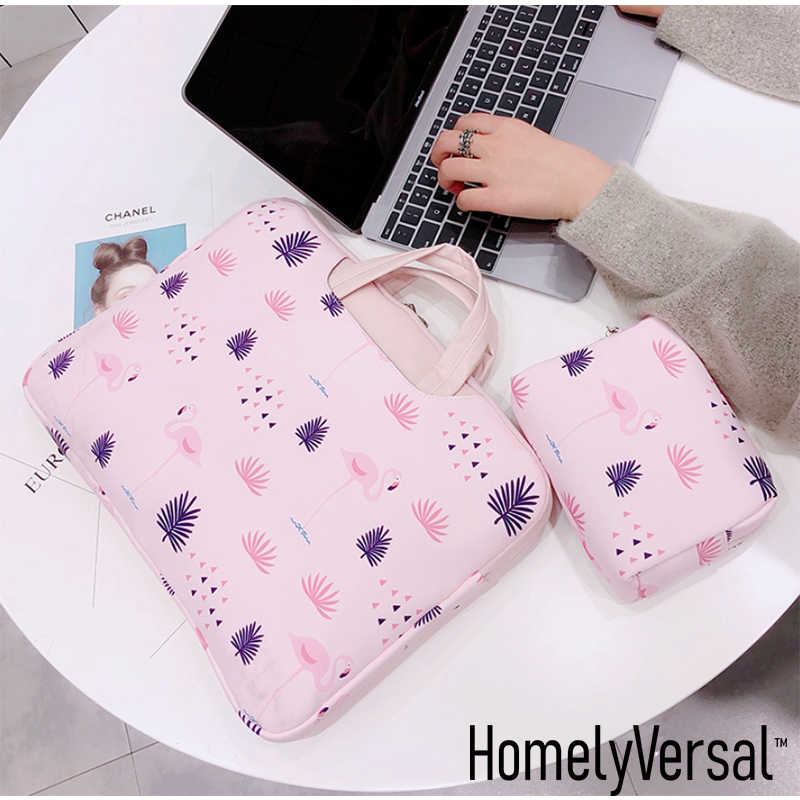 Pochette d'ordinateur portable légère anti-poussière sac pour ordinateur portable Kawaii pour MacBook Lenovo Dell HP Asus sac d'ordinateur 13-15.6