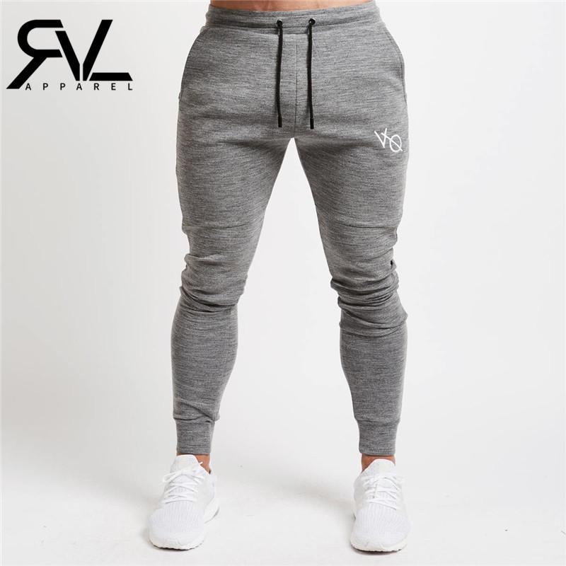 Brand High quality men VQ pants Fitness Casual Elastic Joggers bodybuilding clothing casual sweatpants joggers pant
