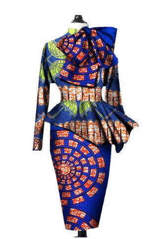 Robe Africaine New Special Offer Cotton African Dress 2018 African Print Women Suits