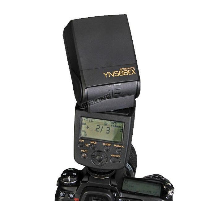 Yongnuo YN-568EX YN568EX Flash light Speedlite Speedlight TTL Auto 1/8000s for Nikon D5200 D3100 D750 D80 D90 D600 D650 D700 D60 nikon speedlight sb 700