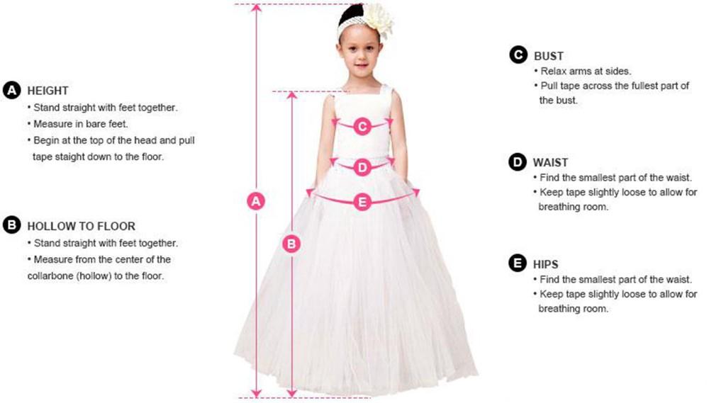 girls measure