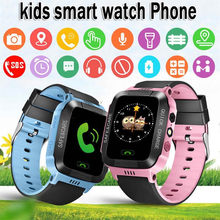 2019 New Fashion Kids Smart Watch with GPS GSM Touch Screen SOS Children Smartwatch for Android iOS Phone Alarm Clocks Saat Gift(China)