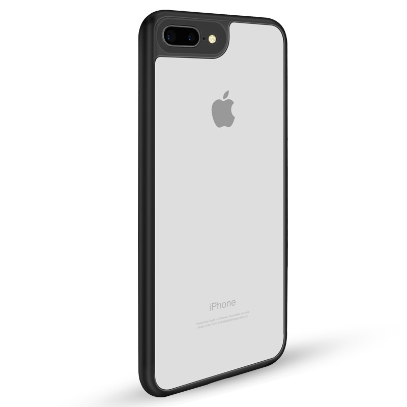 the best attitude 45f5d 55001 US $2.39 20% OFF|TUMI.OVO Slim Case for iPhone 8 7 6 6S Plus 5 5S 5SE X  Full Protective PC & TPU Silicone Cover Coque Transparent Back Cases-in  Fitted ...