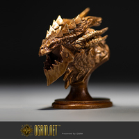 OGRM Brand WOW war craft deathwing statue bronze sculpture statues for decoration Neltharion statuette small game figure statue