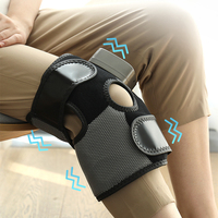 Multifunction Knee Joint Electric Magnetic Vibration Heating Massager Elderly Knee Health Care Rehabilitation Training Massage