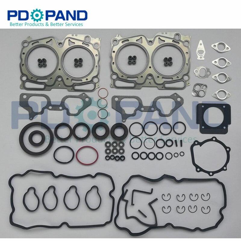EJ20 La Ricostruzione di Revisione del Motore Guarnizione Kit 10105-AA990 Per SUBARU Forester SG 2.0X 2006-2007 SH 2.0X/XS 2008 -2010