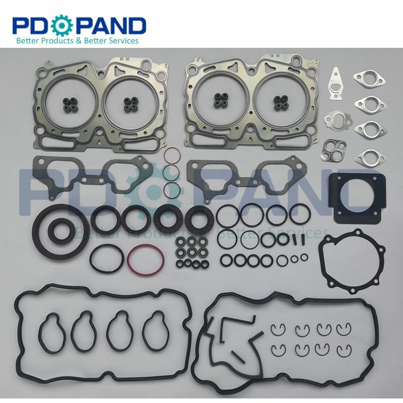 EJ20 Motor Revizyon Yeniden CONTA TAKIMI 10105-AA990 SUBARU Forester SG 2.0X 2006-2007 SH 2.0X/XS 2008- 2010