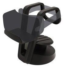 Claite Universal VR Headset Stand VR Glasses Monut Black Plastic ABS Display Holder Cable Organiser Rack