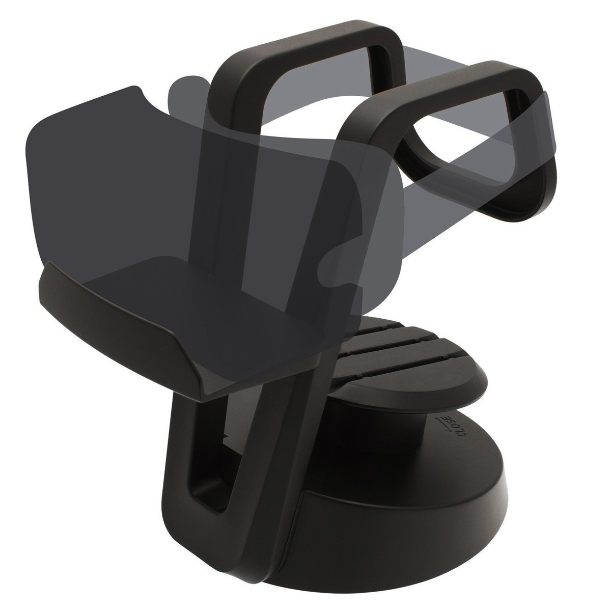 Claite Universal VR Headset Stand VR Glasses Monut Black Plastic ABS Display Holder Cable Organiser Rack Storage For VR Glasses