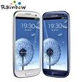 Горячая Продажа Смартфон Оригинальный Samsung Galaxy S3 i9300 Quad Core 8MP Камера NFC 4.8 ''GPS Wifi 3 Г Открыл мобильный телефон