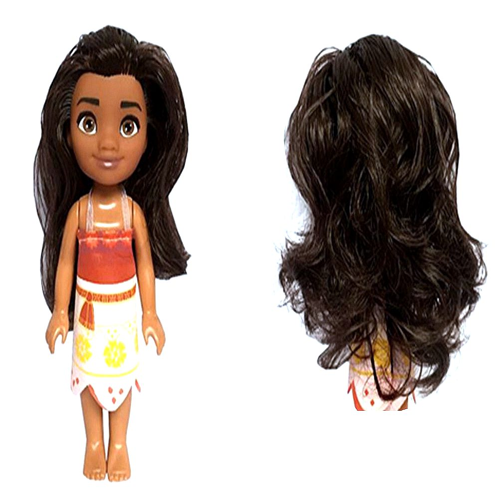Movie Moana Cute Maui Keychain Figure Collection Model Toys With Retail Box Sturdy Construction Action & Toy Figures
