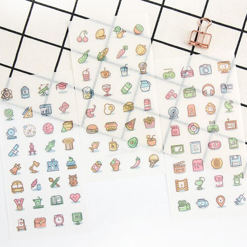 280Pcs//pack Pretty girls stickers scrapbooking DIY diary albums notebook deco vb