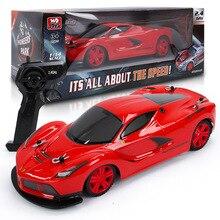 Четыре цвета детей Радиоуправляемые игрушки 1:14 Моделирование гонки четыре колеса поглощения ударной light 2,4 г дистанционного управления автомобилем.