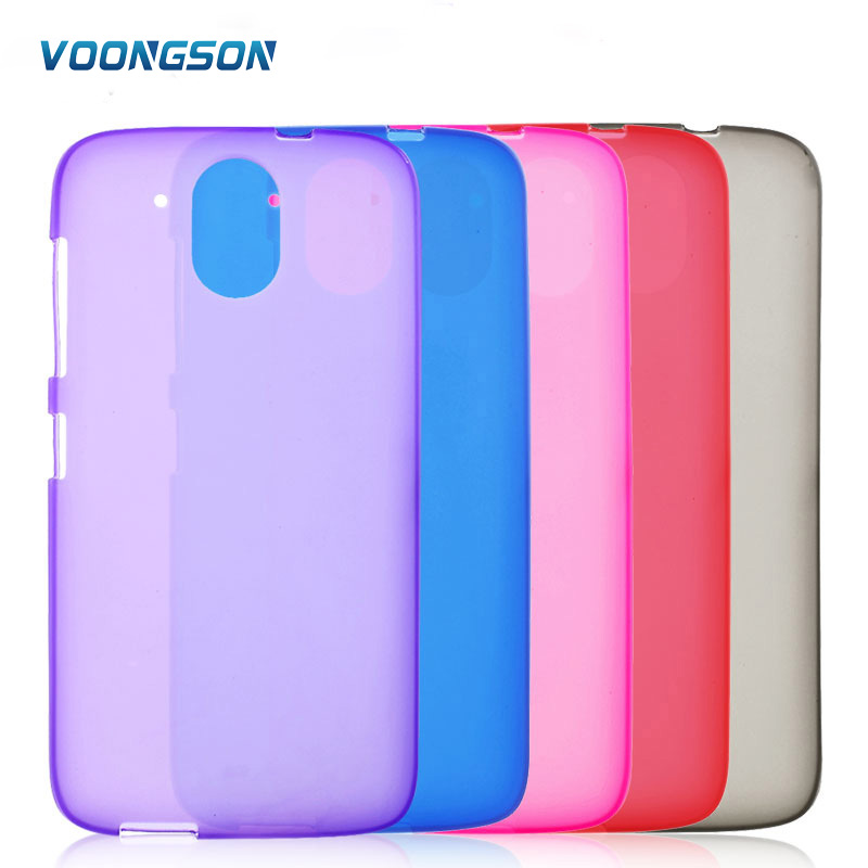 VOONGSON Phone Cases for HTC Desire 526 526G+ Dual SIM Mobile Phone Bag Matte TPU Case Cover For HTC Desire 526 Shell Coque