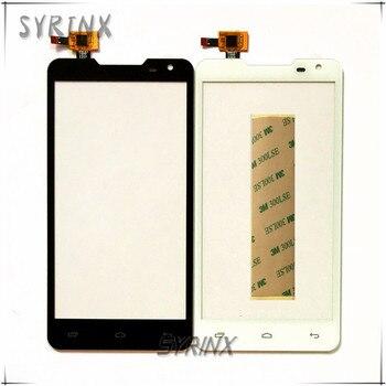 Syrinx + 3 M cinta digitalizador de pantalla táctil para Prestigio MultiPhone Duo PAP 5044 PAP5044 Touch Panel frontal de vidrio de pantalla táctil