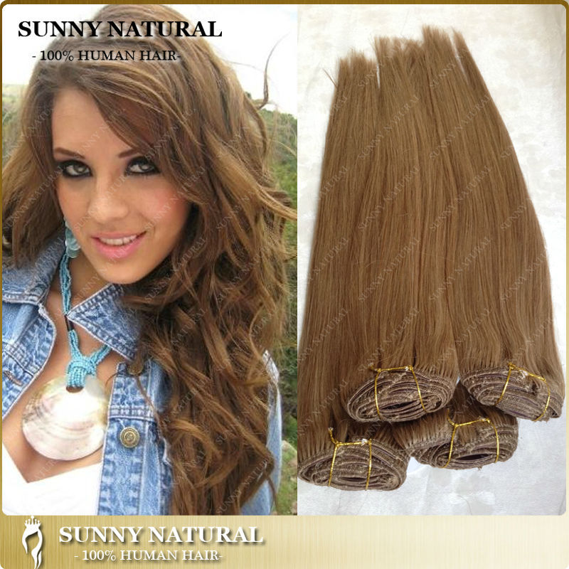Fashion dark blonde brazilian clip hair human virgin hair on clip top k23 k22 k21 k20 pmusecretfo Images