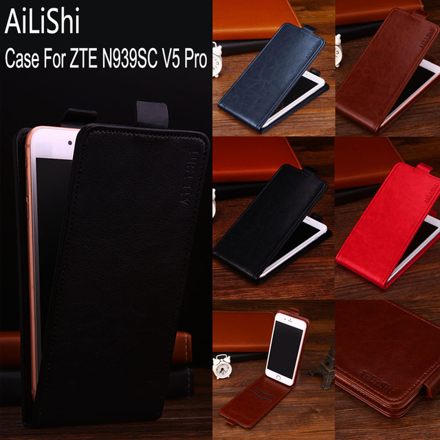 AiLiShi Factory Direct! Case For ZTE N939SC V5 Pro Leather Case Flip 100% Special Phone Bag With Card Slot + Tracking