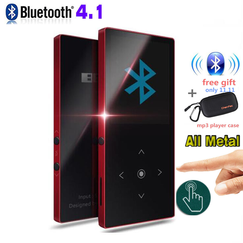BENJIE K8 Ultra thin Bluetooth mp4 player Touch Screen 8GB Music Player 1.8 Inch Color Screen Lossless HiFi Sound with FM Radio ...