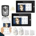 "Popular 7"" 2 Monitors WiFi Wireless Video Door Phone intercom Doorbell IP Camera PIR IR Night Vision Home alarm system"