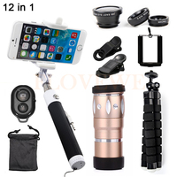 Mobile Lens Kit 10X Zoom Telephoto Lenses Telescope For IPhone 5 S 6 S 7 Xiaomi