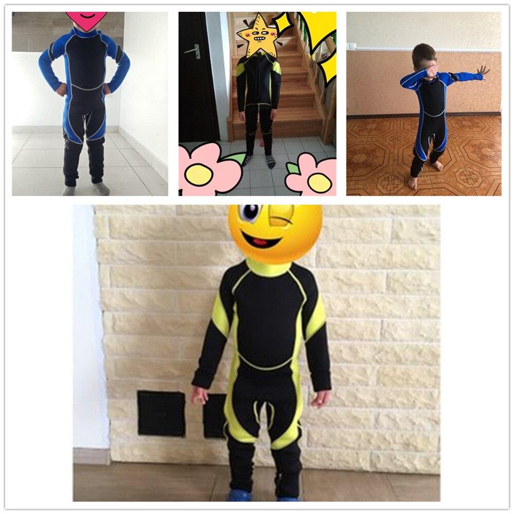 Hot Sale Neoprene Scuba Dive Wetsuit For Boys Girls Spearfishing Children Wet Suit Surf Diving Equipment Split Suits One Pieces