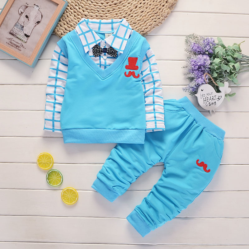 HTB1Mkx0pH5YBuNjSspoq6zeNFXam - BibiCola spring autumn Baby Boy Clothes Set Children Clothing Sets Products Kids Clothes Baby Boys T-shirts+Pants 2PCS Tracksuit
