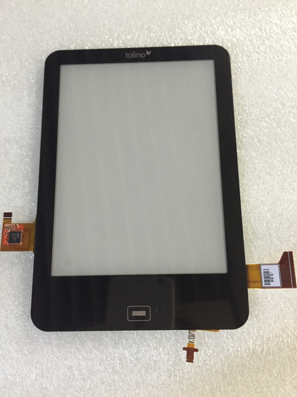 Free shipping 6inch ED060XH5(U1)-S2 For tolino Elink Ebook LCD screen with touch screen digitizer glass Replacement parts zhiyusun new touch screen 364mm 216mm 15 6inch glass 364 216 for table and computer commercial use