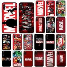 Luxury Marvel Comic Soft Case for Xiaomi
