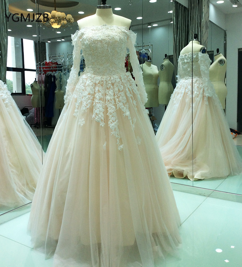 Aliexpress.com : Buy Champagne Wedding Dresses Vintage