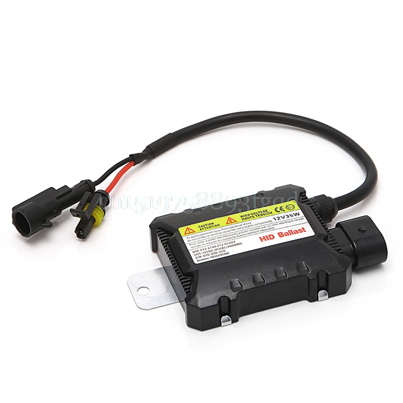 Slim 35W Universal HID Digital Conversion Ballast Kit 12V For H1 H7 9006 Xenon Headlight#T518# best promotion ac digital 35w slim for hid xenon replacement ballast universal h7 h1 h3 h11