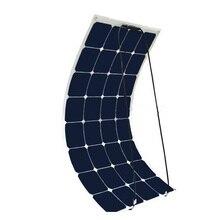 XINPUGUANG 18v 100 watt flexible solar panel 12V High Efficiency Class A monocsytalline Home use placa