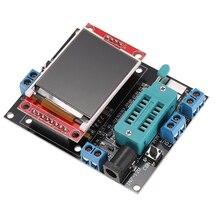 Многофункциональный ЖК-Транзистор Тестер Диод GM328B Емкость СОЭ Метр Частоты Генератора Выход ШИМ Сигнала